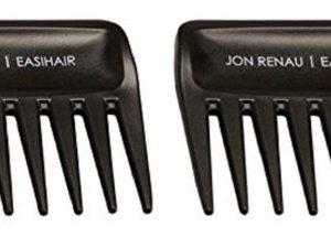 2 Wide Tooth Combs by Jon Renau & easiHair